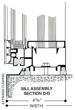 sill assembly